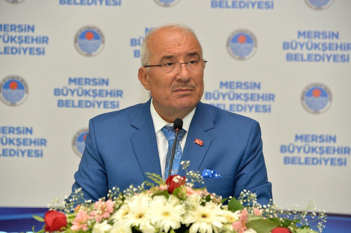 Mersin Büyükşehir Belediye Başkanı Burhanettin Kocamaz