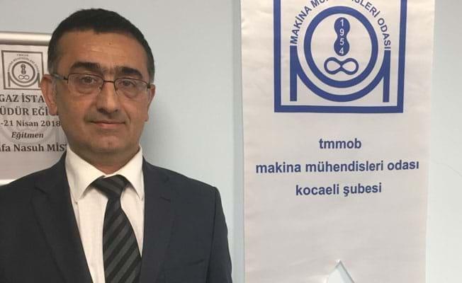 Makine Mühendisleri Odası Kocaeli Şube Başkanı Murat Kürekçi