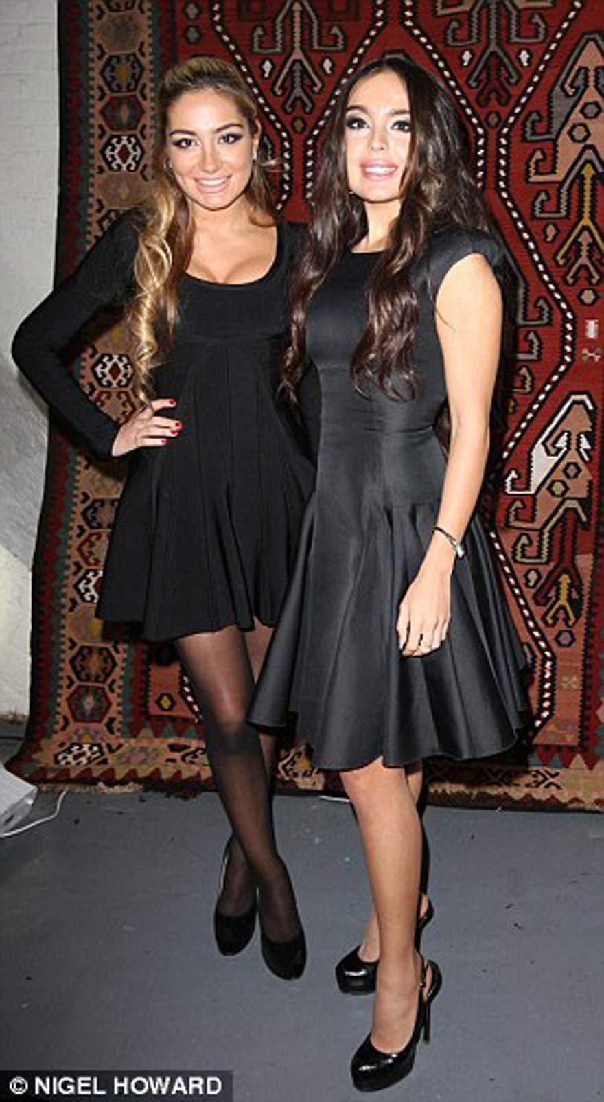 Leyla Aliyeva ve Arzu Aliyeva