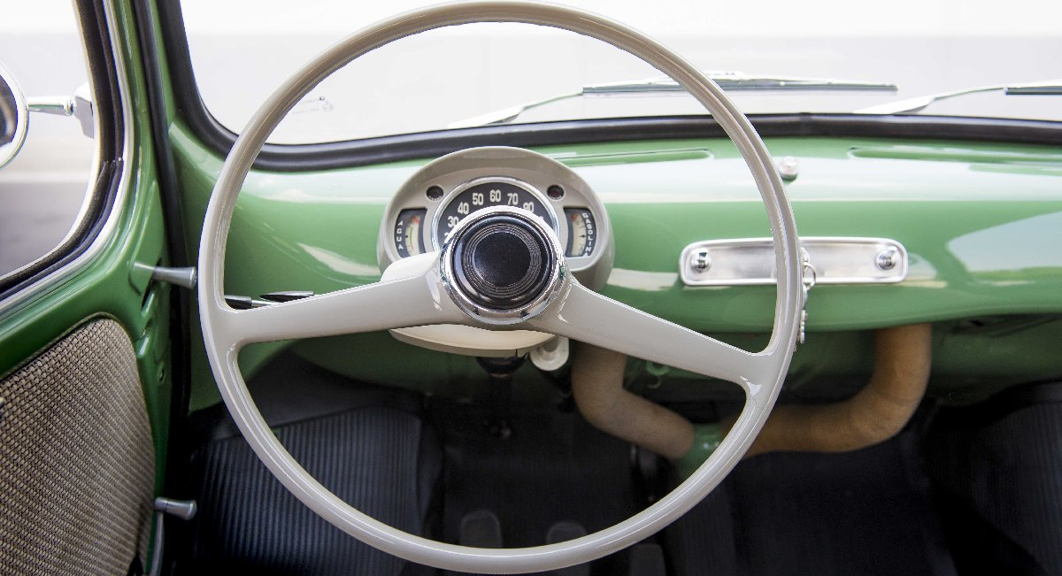 1960 - Seat 600 direksiyonu