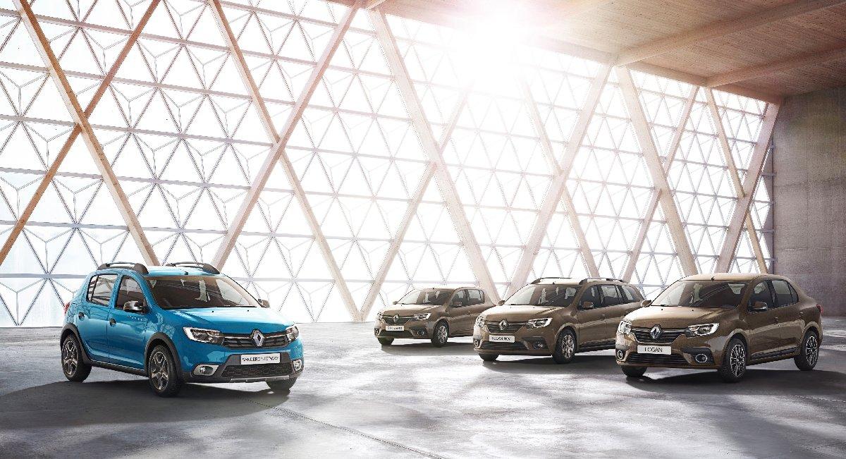Renault logolu Dacia modelleri