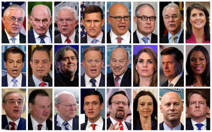 ABD'de Başkan Trump'ın 24 yardımcısı bugüne kadar görevlerinden ayrıldı. Reuters