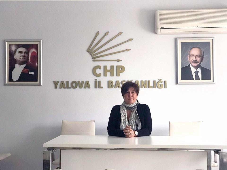 CHP Yalova İl Başkanı Nur Koçak, AKP İl Başkanı'nın sözlerine tepki gösterdi.