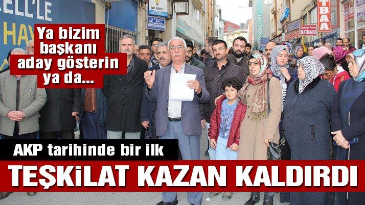 Son dakika… AKP tarihinde bir ilk! İlçe teşkilatı kazan kaldırdı!