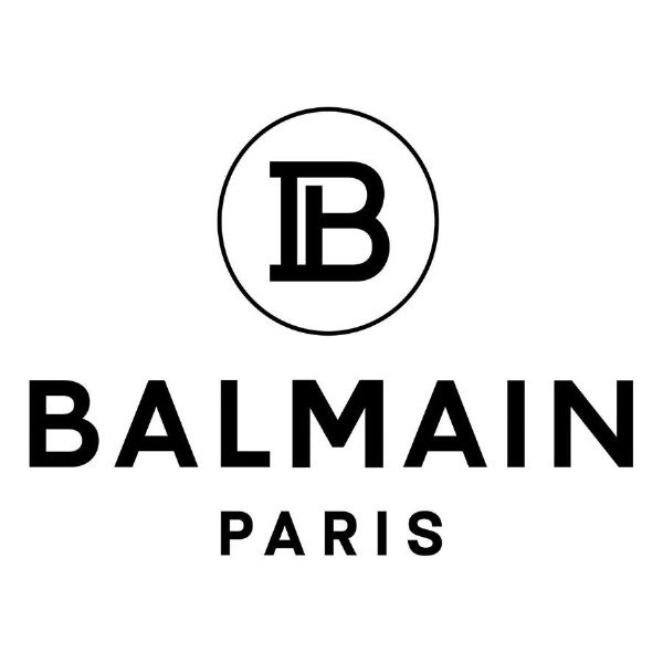 Balmain markasının yeni logosu...
