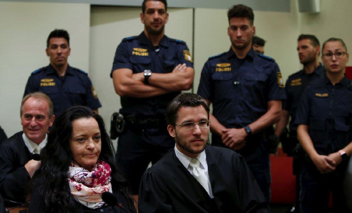 Beate, duruşma sırasında geri adım atmış ve olaylarla ilgisi olmadığını söylemişti.
