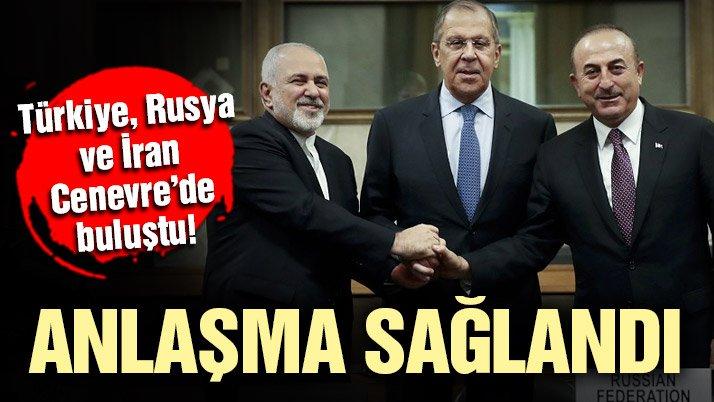 Son dakika… Cenevre'de Suriye için anlaşma çıktı