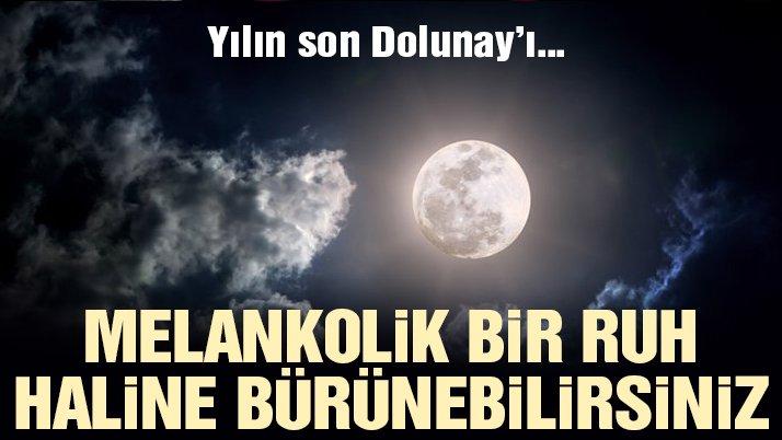 Yılın son Dolunay'ı Yengeç burcunda!