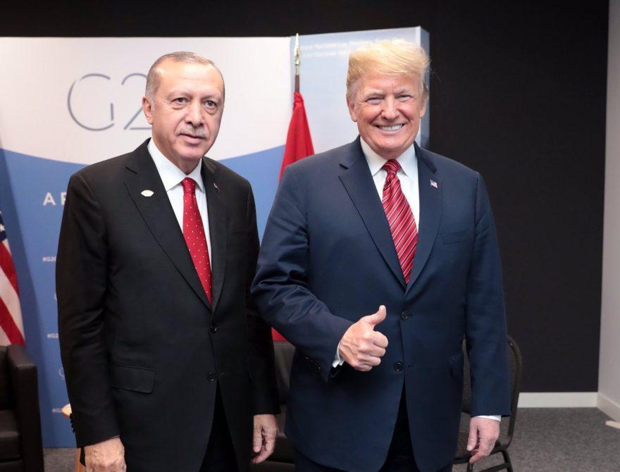 İki lider G20 Zirvesi'nde görüştü. AA