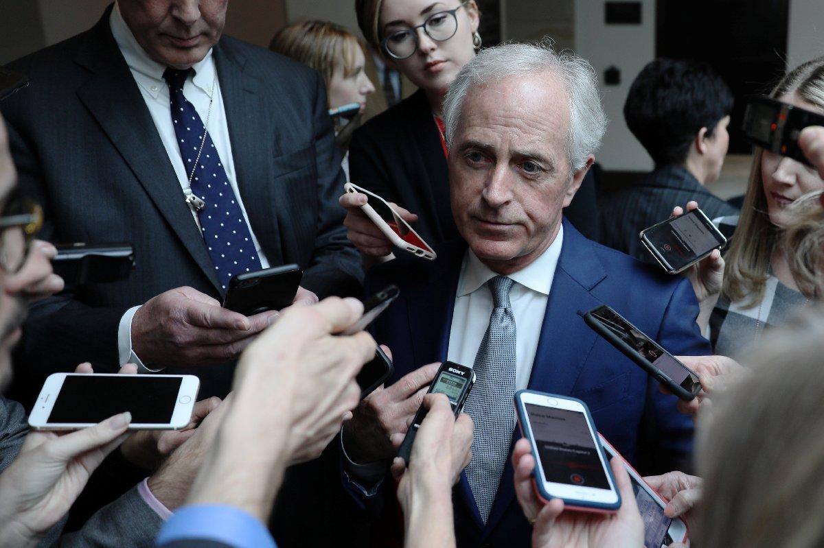 Cumhuriyetçi senatör Corker - Reuters