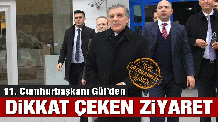 Abdullah Gül'ün dikkat çeken Konya ziyareti   Son dakika haberleri