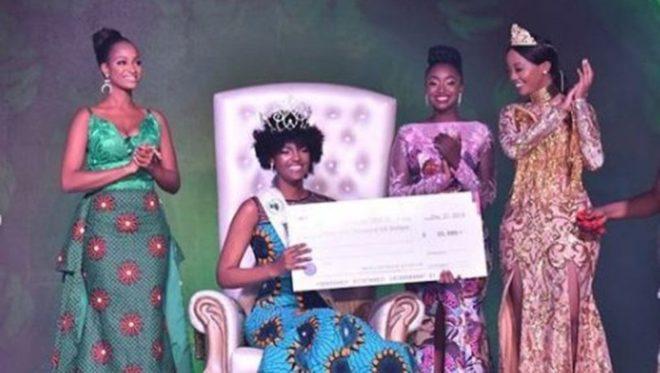 24 yaşındaki Dorcas Kasinde yarışmayı birinci tamamladı.