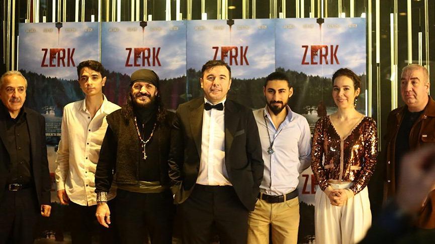 'Zerk' filmi basına tanıtıldı