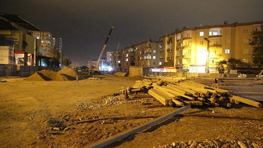 Ana boru delinince kentin doğalgazı kesildi