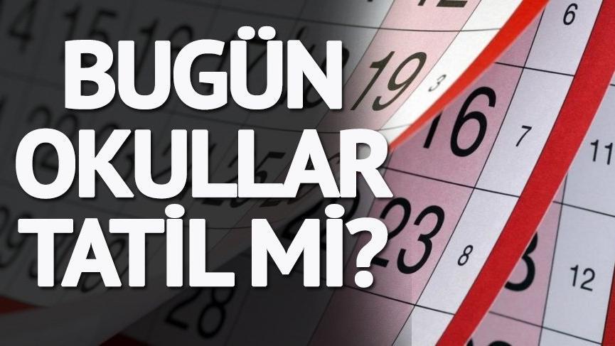 Bugün okullar tatil mi? 31 Aralık'ta okullar tatil mi? Yılbaşı tatil takvimi…
