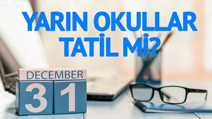 Hastaneler, PTT, eczaneler, kargolar ve bankalar açık mı? 31 Aralık 2018 Pazartesi resmi tatil mi?