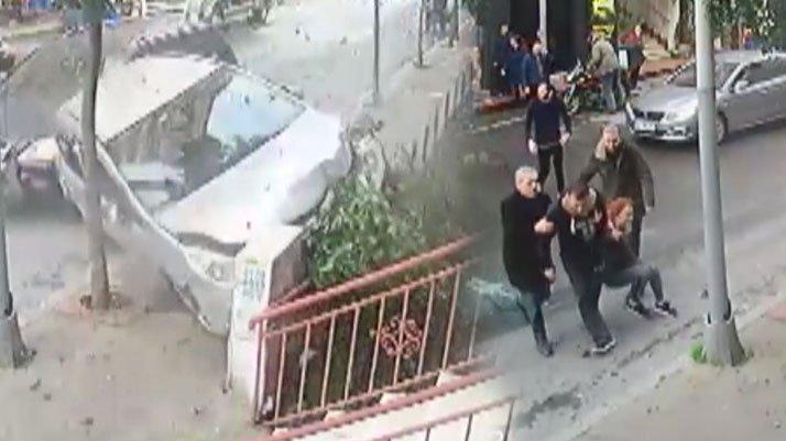İstanbul'da korku dolu anlar: Önce kaza yaptırdı, sonra kaçırmaya çalıştı