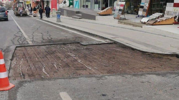 Vatandaşlardan yol tepkisi: Bir ay dayanmadı