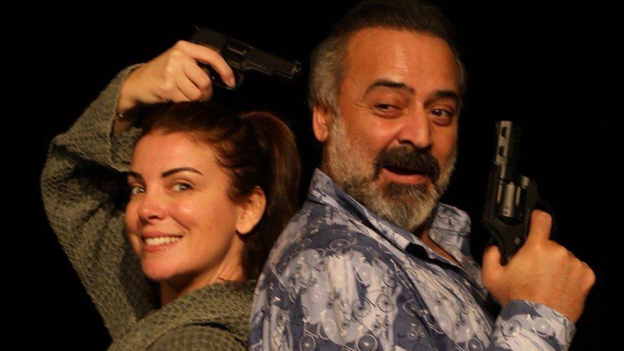 Özge Özberk 4 yıl aradan sonra yeniden tiyatro sahnesinde