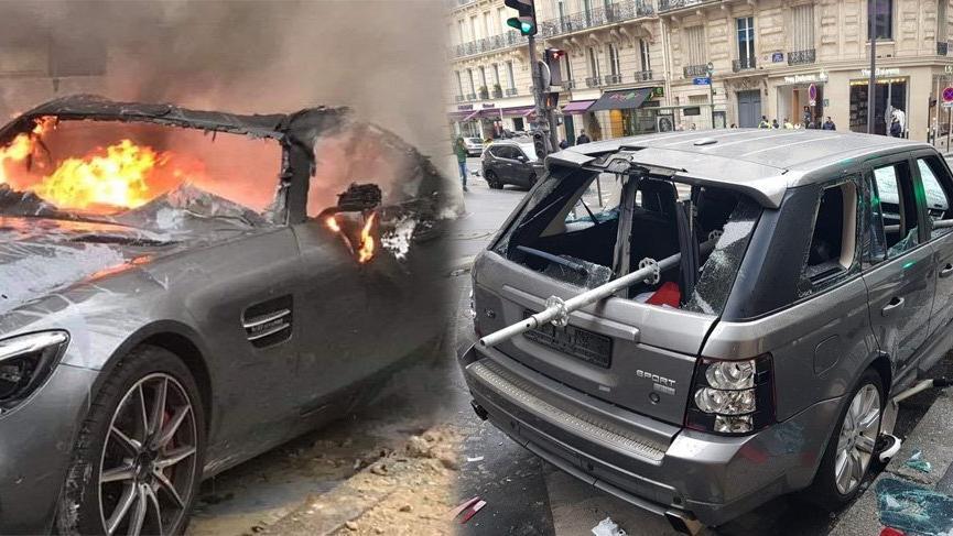 Fransa yanıyor! İş yerleri ve araçlar ateşe verildi, gözaltı sayısı arttı