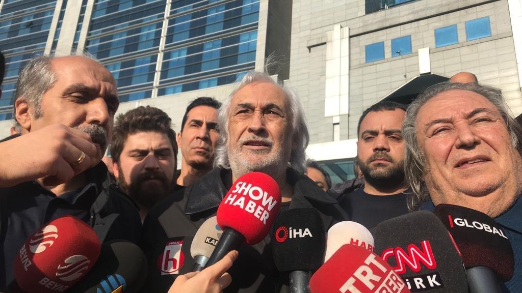 Müjdat Gezen ve avukatı Celal Ülgen'den adliye çıkışı açıklama