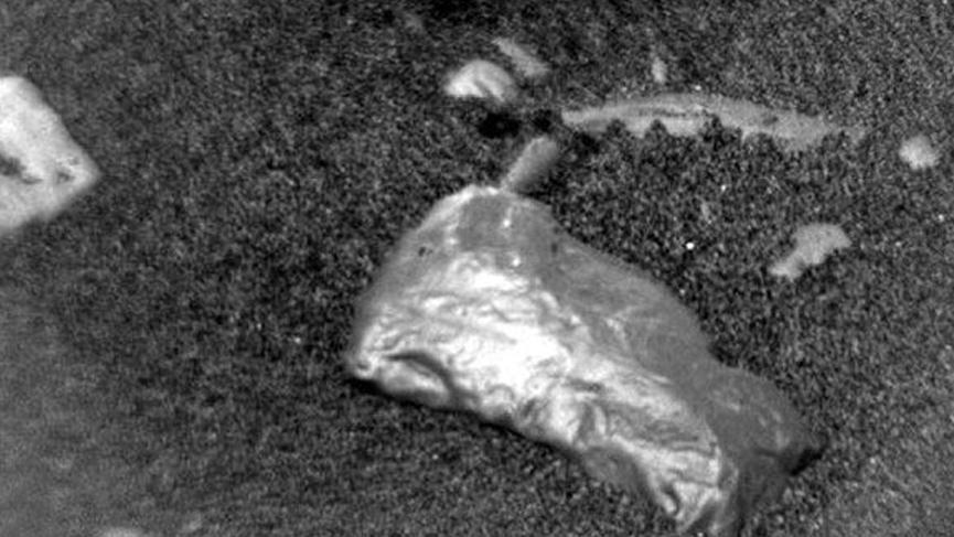 Mars'ta yeni keşif! Heyecan yaratan parlak cisim bulundu