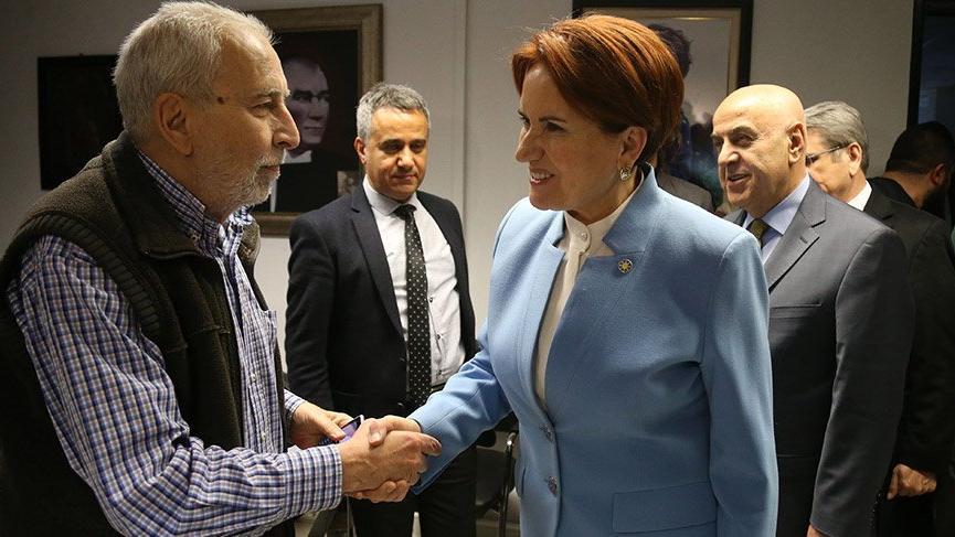Meral Akşener'den Sözcü'ye destek ziyareti