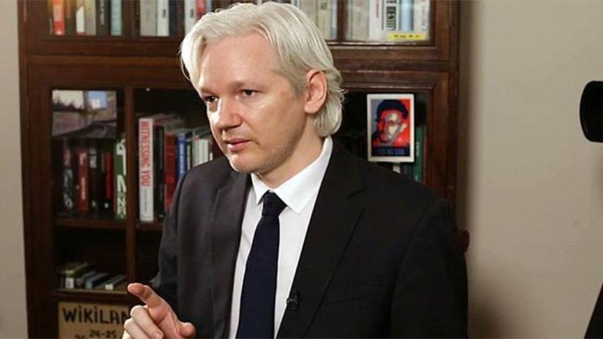Wikileaks'in kurucusuna İngiltere'den iyi haber! O odadan çıkabilecek