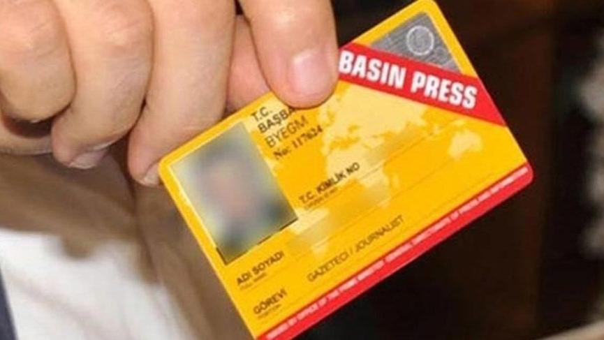 Cumhurbaşkanı Yardımcısı açıkladı: Bin 954 gazetecinin basın kartı iptal edildi