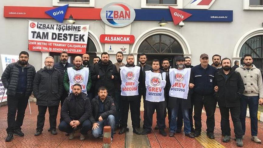 İZBAN işçileri greve devam etme kararı aldı