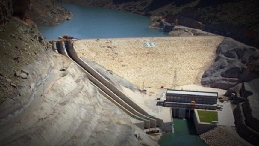 Son Dakika... Sel uyarısı! Dicle Barajı'nın kapaklarından biri yağış nedeniyle koptu