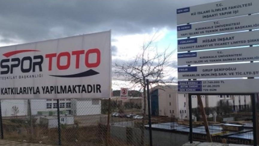 Spor Toto İslami İlimler Fakültesi'ne Diyanet'ten fetva