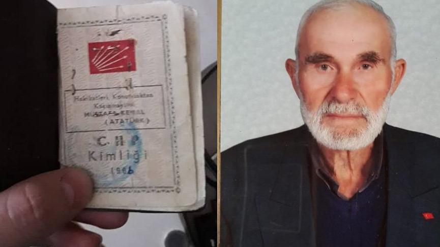 CHP'nin en eski üyesi 101 yaşında hayata veda etti