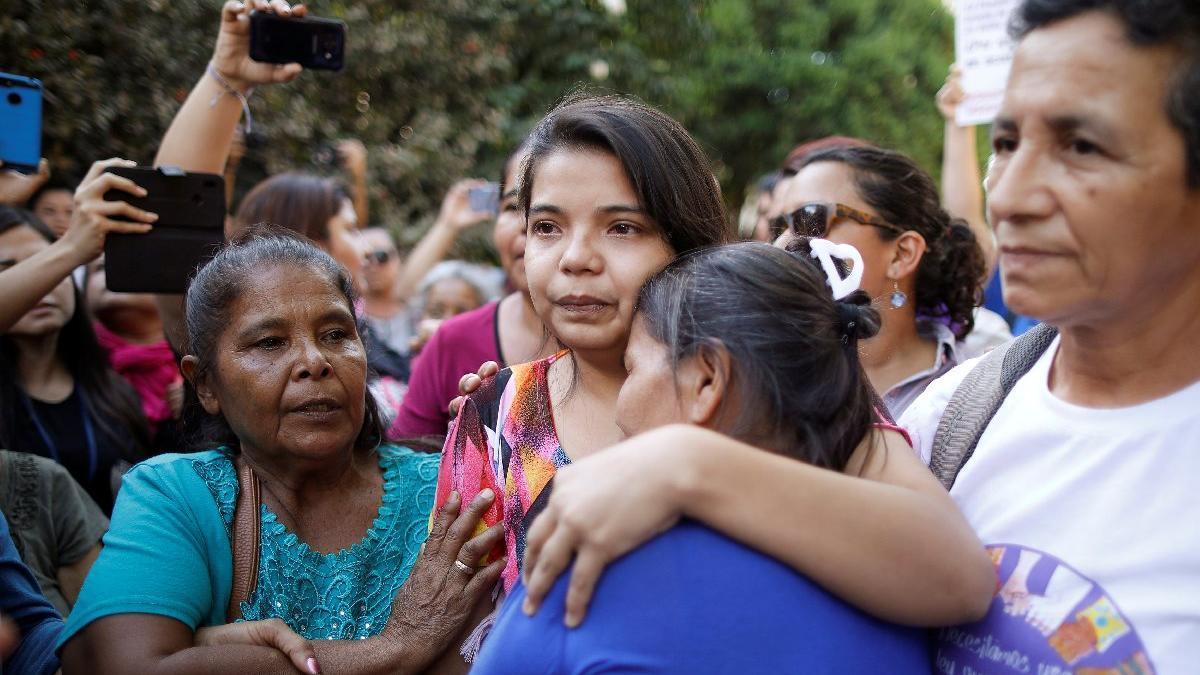 Tecavüz mağduru kadın özgürlüğüne kavuştu