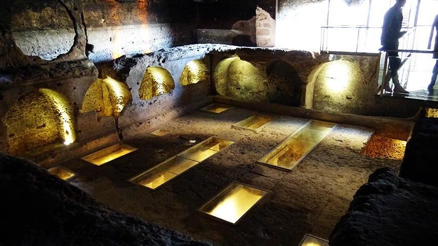 Dara Antik Kenti´ndeki 'Galeri Mezar'ın dünyada benzeri yok