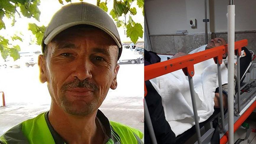 Kayıp belediye işçisi hastanede bulundu