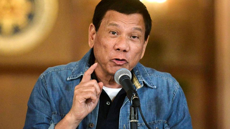 Duterte'den taciz itirafı!