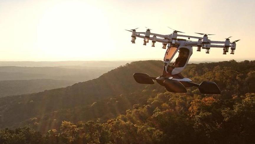 Tek kişilik uçan otonom hava aracı seferlere başlıyor