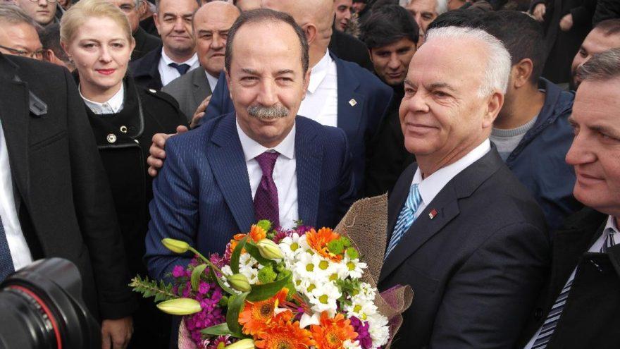 Edirne'de Başkan Gürkan'a coşkulu karşılama
