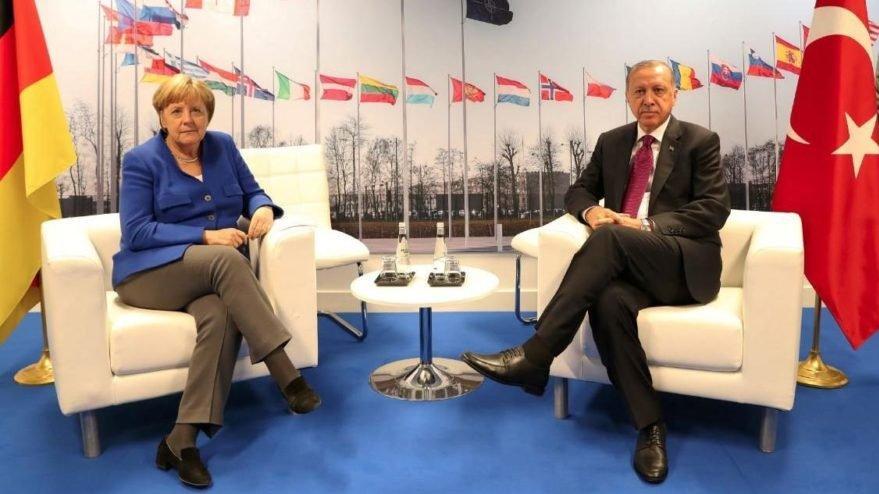 Merkel ile Erdoğan arasında kritik görüşme