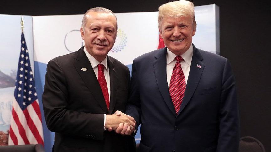 Erdoğan, Trump ile ikinci kez görüştü