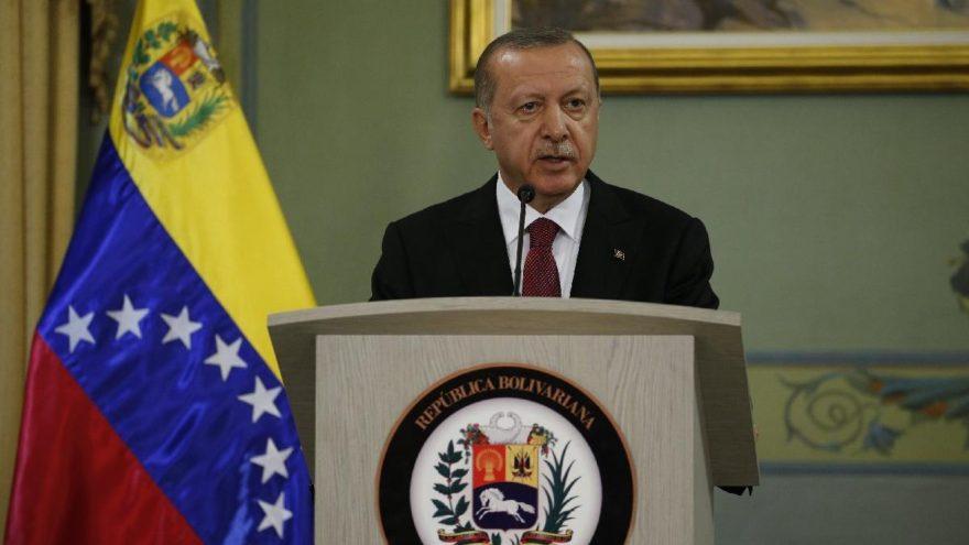 Son Dakika… Cumhurbaşkanı Erdoğan Venezuela'da Maduro ile ortak basın toplantısı düzenledi
