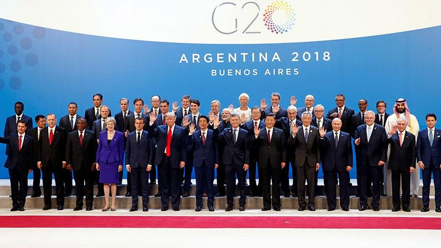 Son dakika… G20 Zirvesi'nin dönem başkanları belli oldu