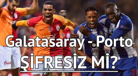 GS ilk 11'i belli gibi! Galatasaray Porto maçı saat kaçta hangi kanalda?