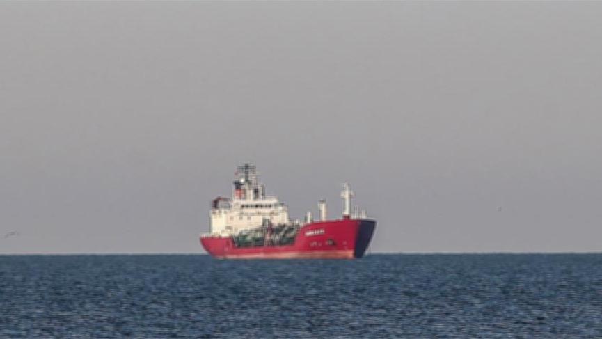 Kuzey Ege Denizi'nde gemi kazası