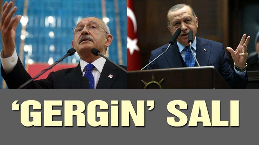 Erdoğan ve Kılıçdaroğlu 'atışması'