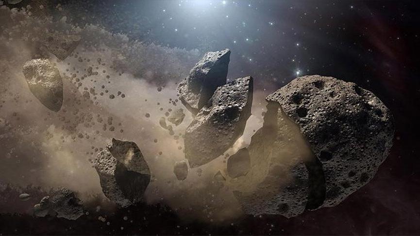 NASA dünyayı tehdit eden o gök taşını yayınladı