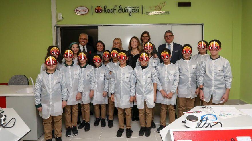 Henkel, Keşif Dünyası'nın Türkiye'deki ilk merkezini Darüşşafaka'da açtı