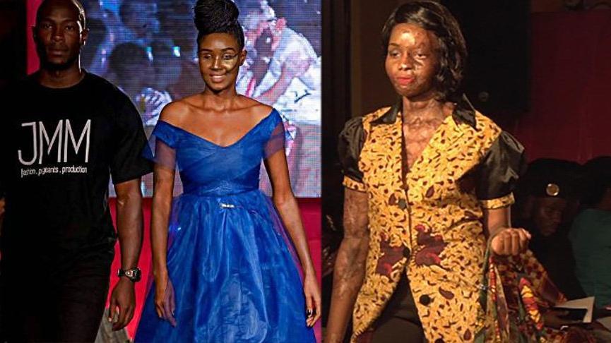 Engelli modeller, Hot Pink Catwalk'ta podyuma çıktı