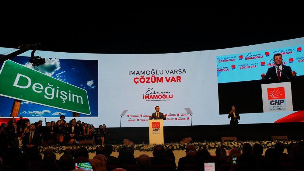 CHP'nin İstanbul adayı Ekrem İmamoğlu 'İstanbul Anayasası'nı açıkladı